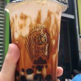 老虎堂タイガーシュガーの黒糖タピオカミルク